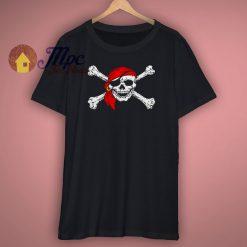 Pirate Skull Crossbones Party T Shirt
