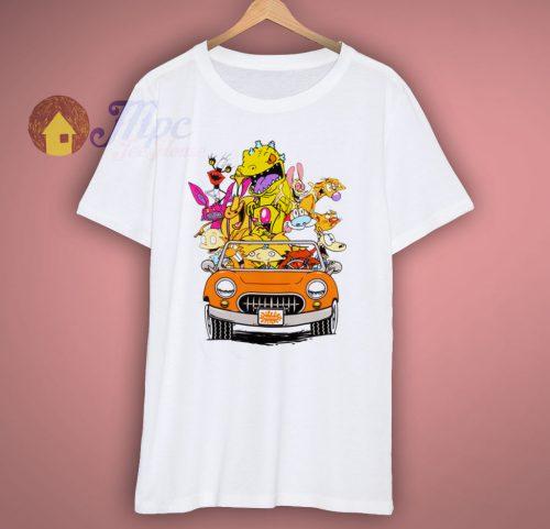 Retro Nickelodeon Cartoon T Shirt