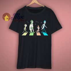 Rick Sanchez Abbey Road Funny T Shirt