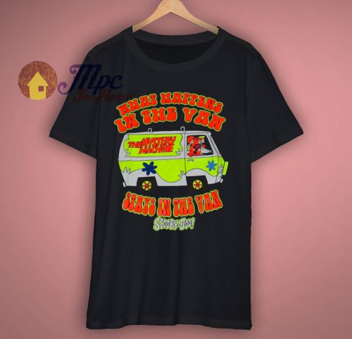 Scooby Doo Mystery Van Classic Cartoon T Shirt