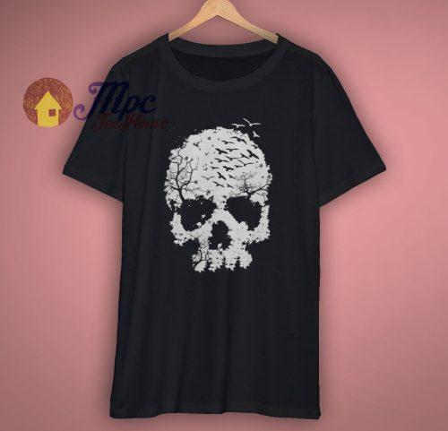 Skull Halloween T Shirt