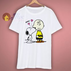 Snoopy kiss Funny T Shirt