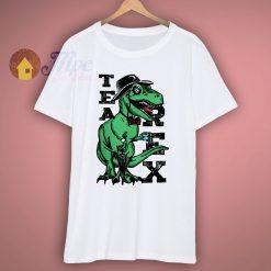 Tea Rex Funny T Shirt