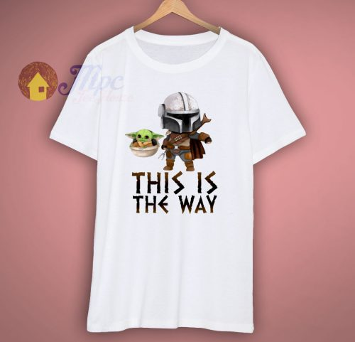 This is The Way Baby Yoda T Shirt
