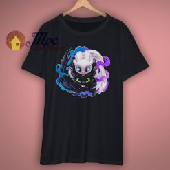 Toothless and Light Fury Cute T Shirt