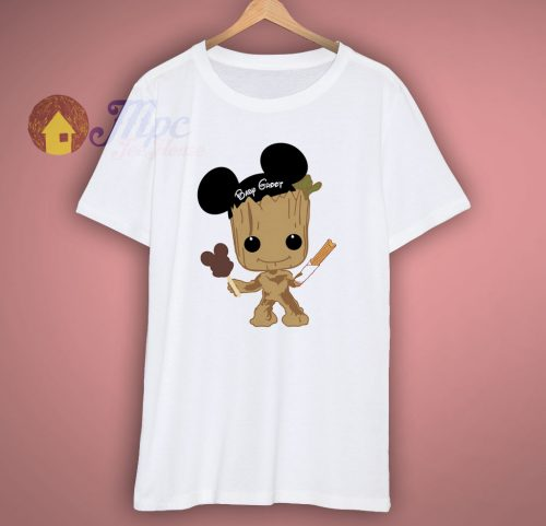Baby Groot Cute Disney T Shirt