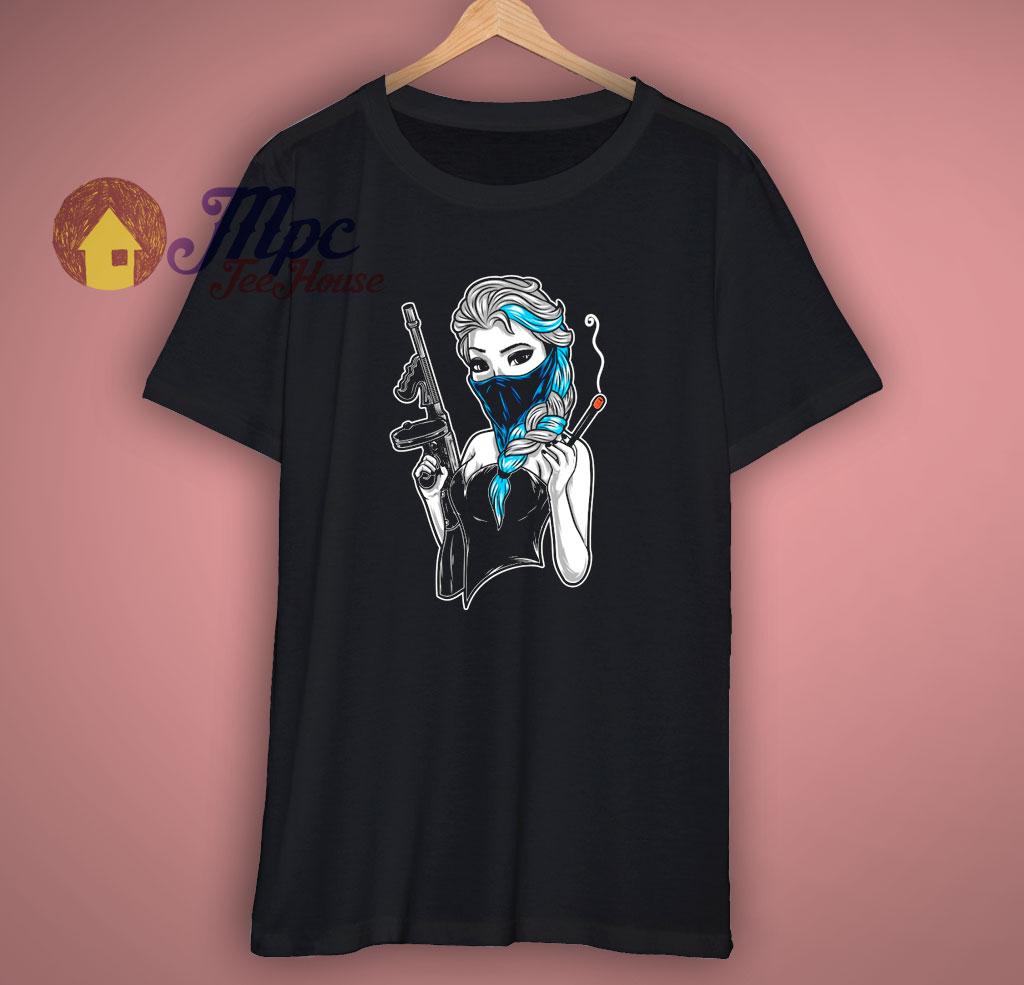 Badass Evil Cold Gangster Frozen T Shirt
