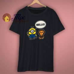 Bape Minions X Baby Milo A Bathing Ape T Shirt