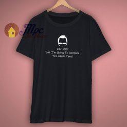 Bob Burger Complains Funny T Shirt