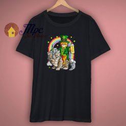 Caticorn St Patricks Day T Shirt