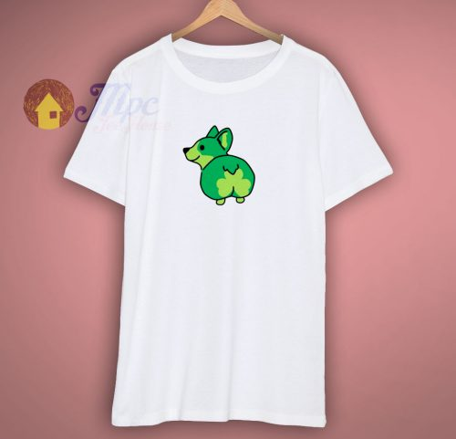 Corgi Butt St Patricks Day T Shirt