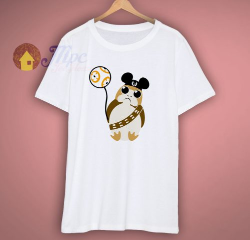 Cute Baby Porg Disney T Shirt