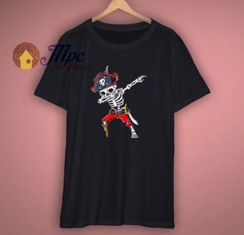 Dabbing Skeleton Pirate T Shirt