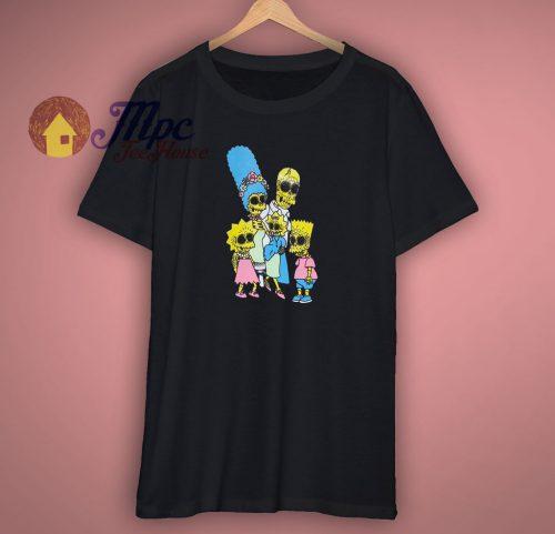 Day Of the Dead La Familia Black T Shirt