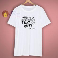 Dr Seuss Awareness T Shirt