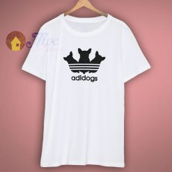 Funny Adidogs Parody T Shirt