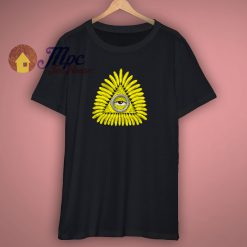 Funny Third Eye Banana T Shirt