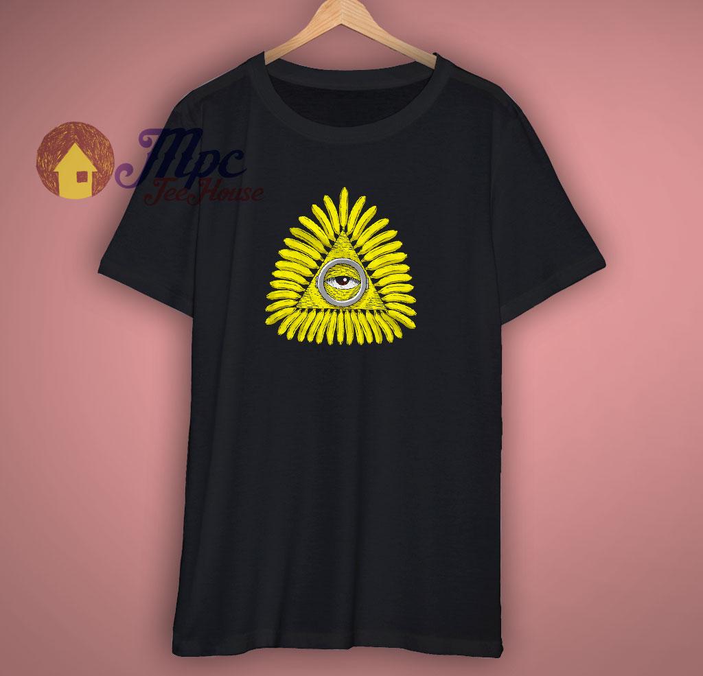 Funny Third Eye Banana T Shirt