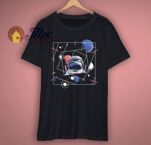 Geometric Astronaut Unisex T Shirt