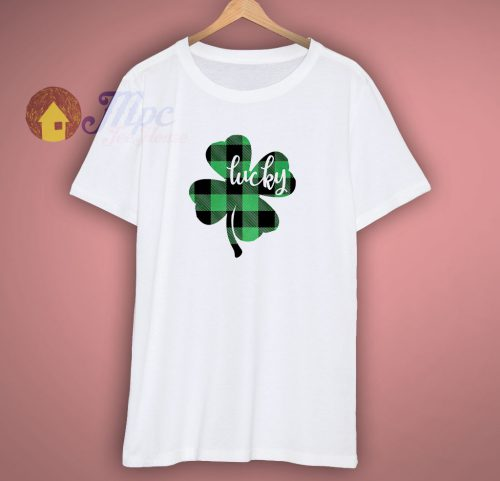 Green Plaid St Patricks Day T Shirt