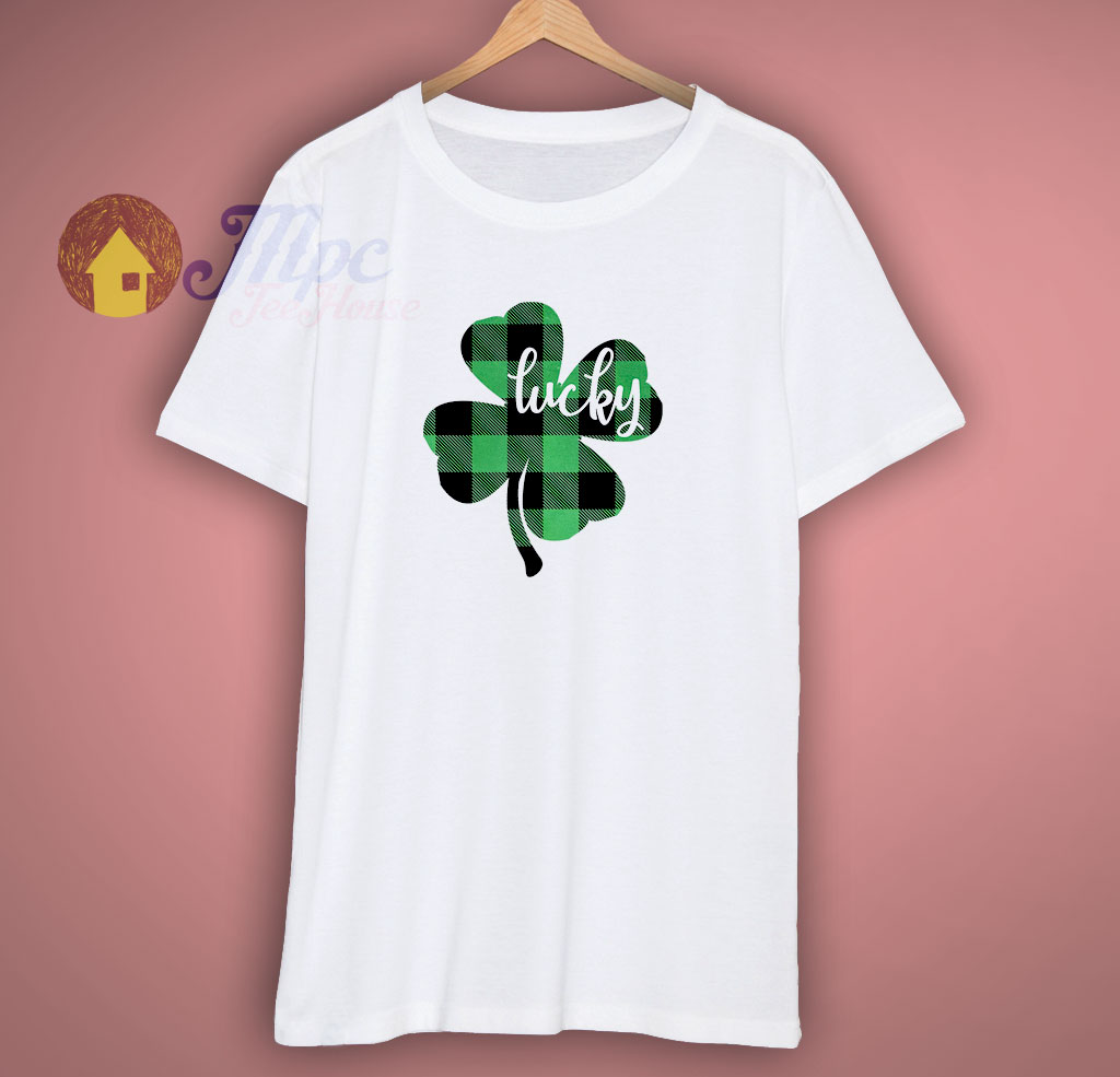 Green Plaid St Patricks Day T Shirt