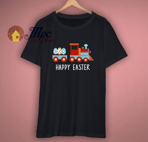 Happy Easter Train Funny T Shirt
