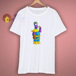 Homer Simpson Thanos Mashup T Shirt