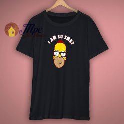 I Am So Smart Simpsons T Shirt