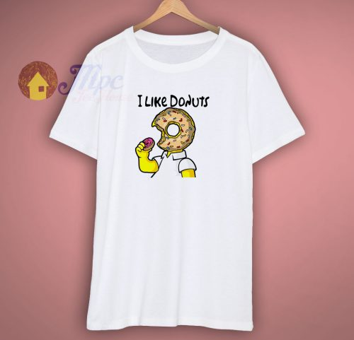 I Like Donuts Simpson T Shirt