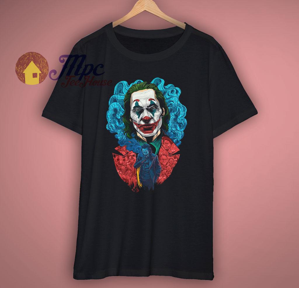 Joker Movie Art Joaquin Phoenix T Shirt