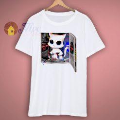 Little Kitty Robot Pilot Cute T Shirt