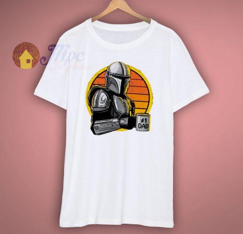 Mandolorian Dad Funny T Shirt