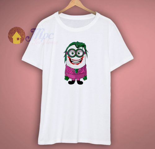 Minion Joker Funny T Shirt