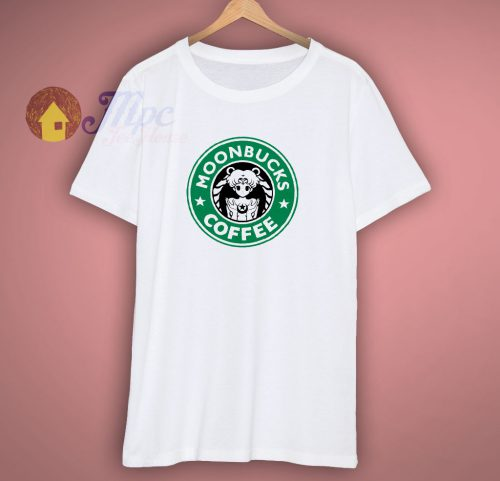 Moonbucks Coffee Parody Starbucks T Shirt