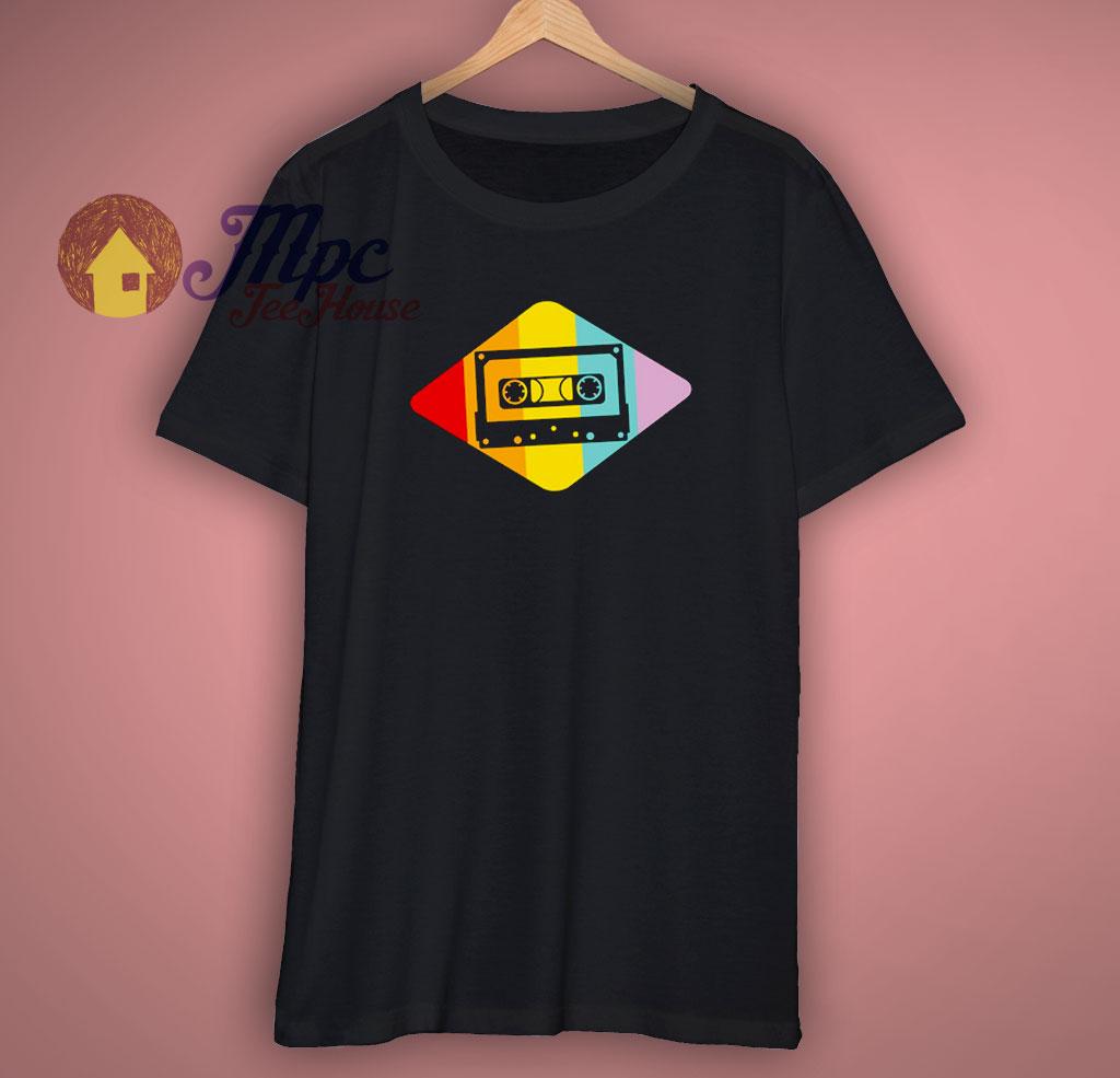 Music Cassette Tape T Shirt