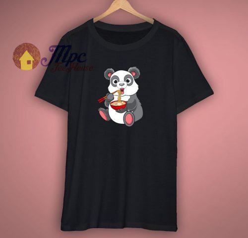 Panda Ramen Cute T Shirt