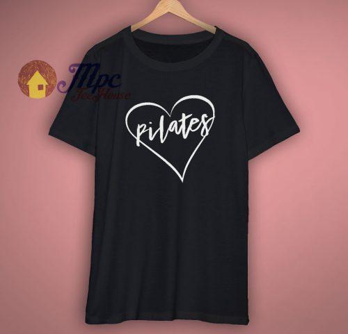 Pilates Heart Cute T Shirt