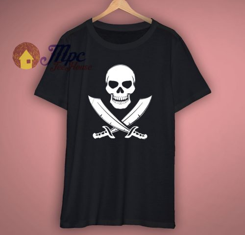 Pirate Skull Awesome T Shirt
