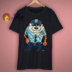 Policeman Taz Looney Tunes T Shirt