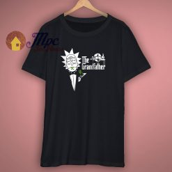 Rick And Morty X The Godfather T Shirt