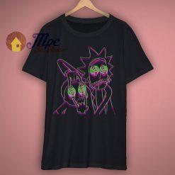 Rick Sanchez 3D Illusion Funny T Shirt