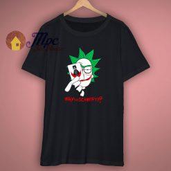 Rick Sanchez As Joker Funny T Shirt