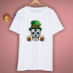 Saint Patricks Day Skull T Shirt