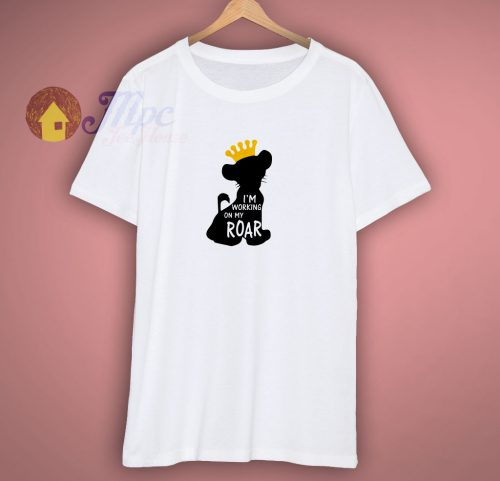 Simba Lion King Cartoon T Shirt