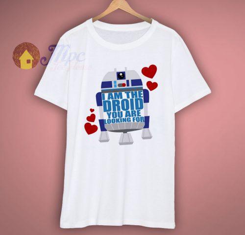 Star Wars Disney Valentine T Shirt