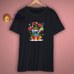 Stitch Christmas Disney Vacation T Shirt