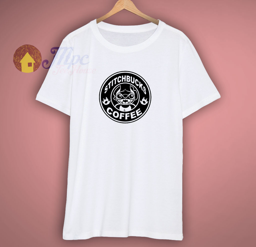 Stitch Coffee Funny T Shirt
