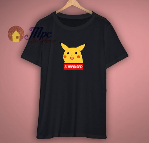 Surprised Pikachu Parody Funny T Shirt