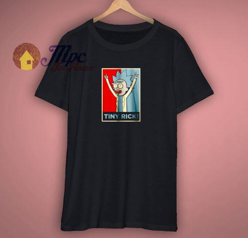 Tiny Rick Funny T Shirt