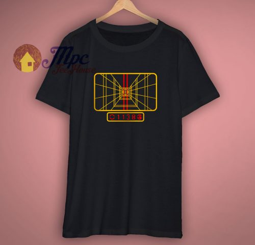 X Wing Panel Star Wars Inspired T Shirt